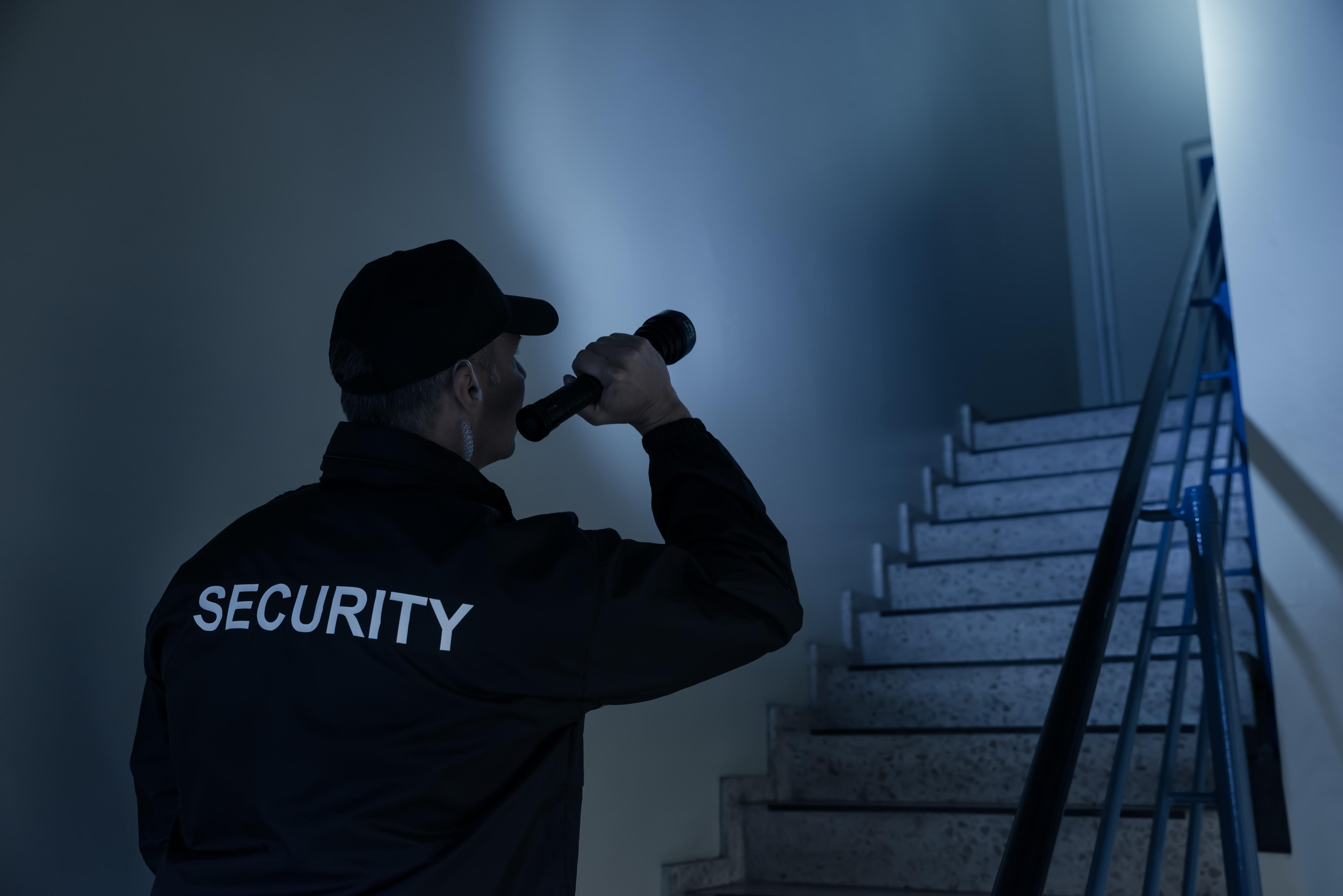 Security Guard corporate building