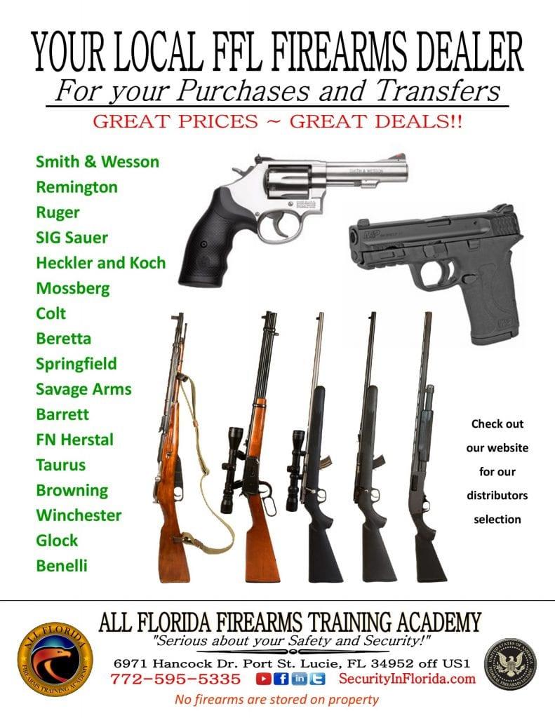 FFL Firearms Dealer Port St. Lucie