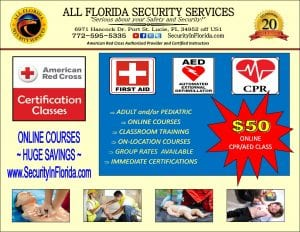 First aid, cpr, aed training course PSL